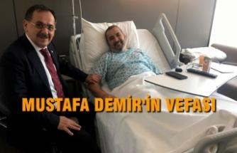 Başkan İsmail Uyanık'a 'Geçmiş Olsun' Ziyareti