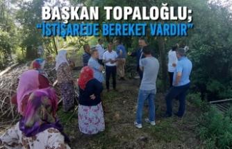 """Başkan Topaloğlu; """"İstişarede Bereket Vardır"""""""