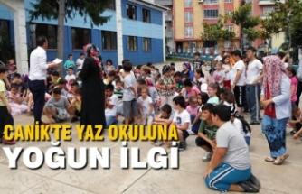 Canik'te Yaz Okuluna Yoğun İlgi