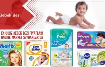 En Ucuz Bebek Bezi Fiyatları Online Market Seyhanlar'da