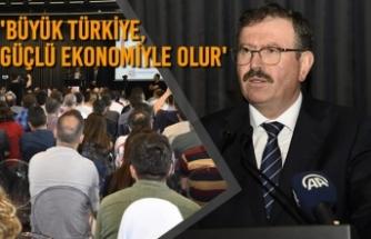 İlhan Bayram:'Büyük Türkiye, Güçlü Ekonomiyle Olur'