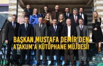 Başkan Mustafa Demir'den ATAKUM'a Müjde