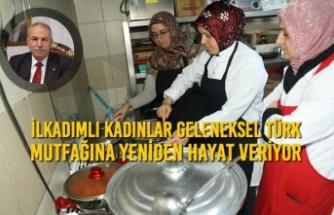 İlkadımlı Kadınlar Geleneksel Türk Mutfağına Yeniden Hayat Veriyor