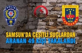 Samsun'da Huzur Güven Uygulaması İcra Edildi