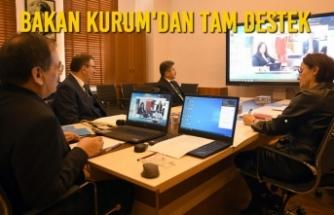 Başkan Mustafa Demir İle Video Konferanslı Yatırım Zirvesi