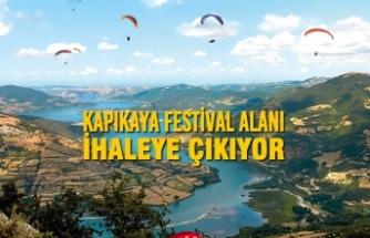 Kapıkaya Festival Alanı İhaleye Çıkıyor