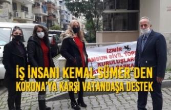 Kemal Sümer'den Korona'ya Karşı Vatandaşa Destek