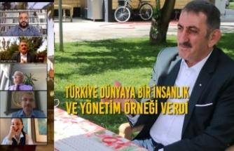 Milletvekili Köktaş: Türkiye Dünyaya Bir İnsanlık Ve Yönetim Örneği Verdi