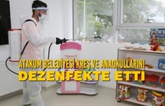 Atakum Belediyesi Dezenfekte Etti Ve Bilgilendirdi