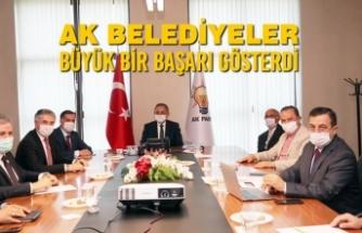 """Yılmaz; """"AK Belediyeler Büyük Bir Başarı Gösterdi"""""""