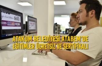 Atakum Belediyesi Atabem'de Eğitimler Ücretsiz ve Sertifikalı