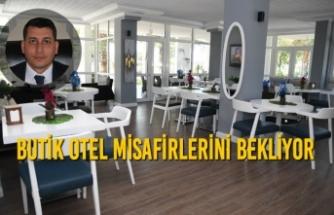 Butik Otel Misafirlerini Bekliyor