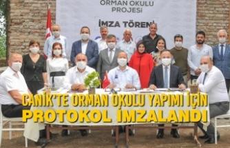 Canik'te Orman Okulu Yapımı İçin Protokol İmzalandı