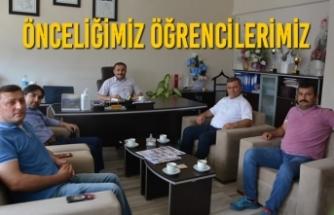 Canik ve 19 Mayıs İlçe Milli Eğitim Müdürleri Buluştu