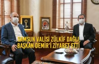 Vali Dağlı, Başkan Demir'i Ziyaret Etti