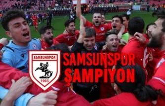 Yılport Samsunspor Şampiyon İlan Edildi
