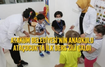 Atakum Belediyesi'nin Anaokulu AtaÇocuk'ta İlk Ders Zili Çaldı