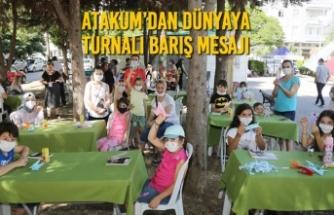 Atakum'dan Dünyaya Turnalı Barış Mesajı