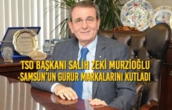 Başkan Murzioğlu, Samsun'un Gurur Markalarını Kutladı