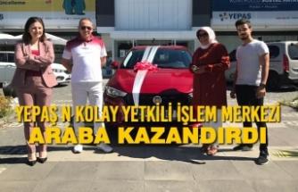 Elektrik Faturasını YEPAŞ N Kolay Yetkili İşlem Merkezinden Ödedi Araba Kazandı