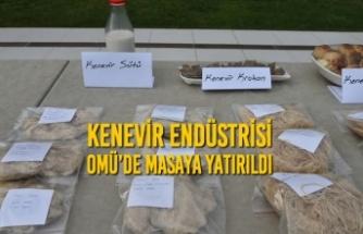 Kenevir Endüstrisi OMÜ'de Masaya Yatırıldı