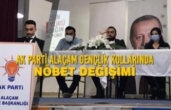 AK Parti Alaçam Gençlik Kollarında Nöbet Değişimi