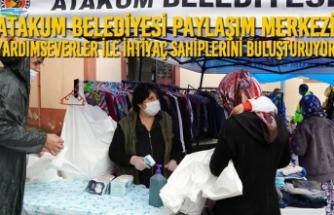 Atakum Belediyesi Paylaşım Merkezi Yardımseverler İle İhtiyaç Sahiplerini Buluşturuyor