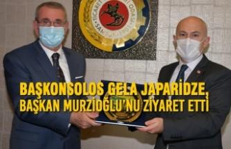 Başkonsolos Gela Japaridze, Başkan Murzioğlu'nu Ziyaret Etti