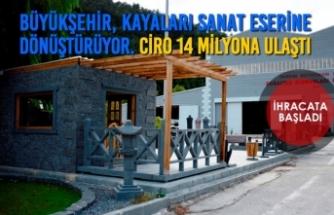 Büyükşehir, Kayaları Sanat Eserine Dönüştürüyor. Ciro 14 Milyona Ulaştı