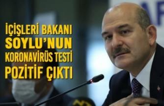 İçişleri Bakanı Soylu'nun Koronavirüs Testi Pozitif Çıktı