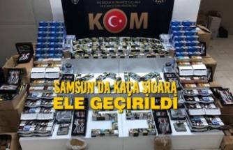 Samsun'da Kaça Sigara Ele Geçirildi