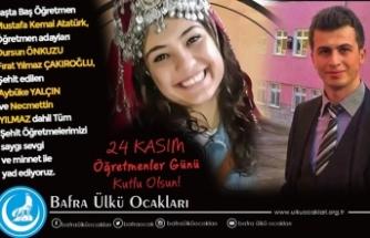 24 Kasım Öğretmenler Günü Türk Öğretmeninin Şeref Günüdür