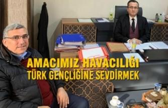 Türk Hava Kurumu'ndan Başsavcı Olcay Aksoy'a Ziyaret