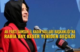 AK Parti Samsun İl Kadın Kolları Başkanlığı'na Rabia Bay Keser Yeniden Seçildi