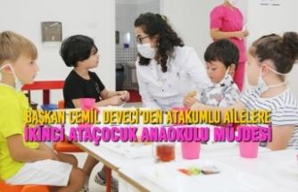 Atakum Belediyesi AtaÇocuk Anaokulu'ndan Yeni Yılda Yeni Şube