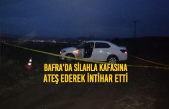 Bafra'da Silahla Kafasına Ateş Ederek İntihar Etti