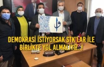 """Ender Çıkla; """"Demokrasi İstiyorsak STK'lar İle Birlikte Yol Almalıyız..!"""""""