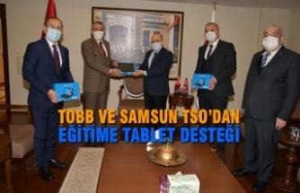 TOBB ve Samsun TSO'dan Eğitime Tablet Desteği