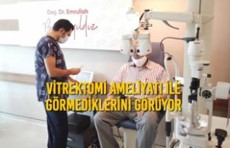 Vitrektomi Ameliyatı İle Görmediklerini Görüyor