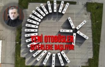 Yeni Otobüsler Seferlere Başlıyor