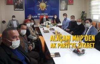 Alaçam MHP'den AK Parti'ye Ziyaret