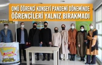 OMÜ Öğrenci Konseyi Pandemi Döneminde Öğrencileri Yalnız Bırakmadı