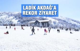 Ladik Akdağ'a Rekor Ziyaret