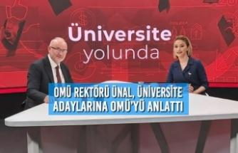 TV100'ün Programına Katılan Rektör Ünal, Üniversite Adaylarına OMÜ'yü Anlattı