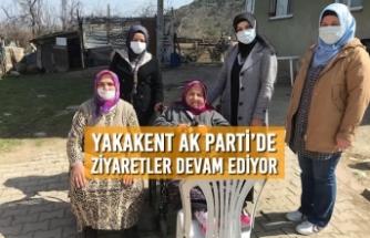 Yakakent AK Parti'de Ziyaretler Devam Ediyor