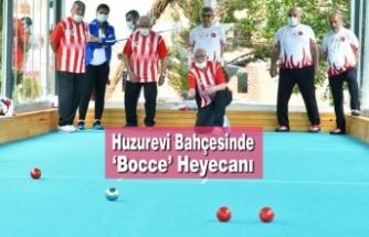 Huzurevi Bahçesinde 'Bocce' Heyecanı