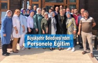 Büyükşehir Belediyesi'nden Personele Eğitim
