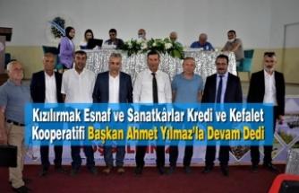 Esnaflar Başkan Ahmet Yılmaz'la Devam Dedi