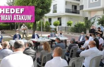 """Vali Dağlı: """"Atakum Genç Nüfusuyla Bizim İçin Önemli"""""""