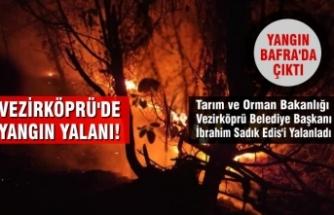Başkan Edis'in Yalanını Orman Bakanlığı Ortaya Çıkardı